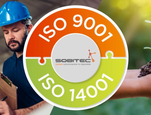 Sobitec confirma Certificación Normas ISO 9001 – 14001