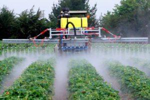 Pulverizadores de Cultivos en Línea